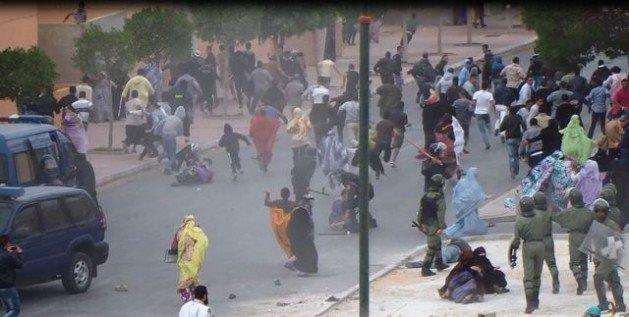 Resultado de imagen de represión en el sahara