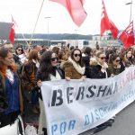 Las trabajadoras de Bershka siguen en huelga