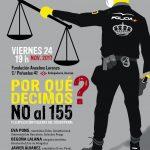 Acto en Madrid: Decimos NO al 155