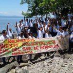 Honduras. Isla Exposición: 15 familias al borde del desalojo