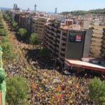 Barcelona desbordada por la libertad de l@s pres@s politic@s